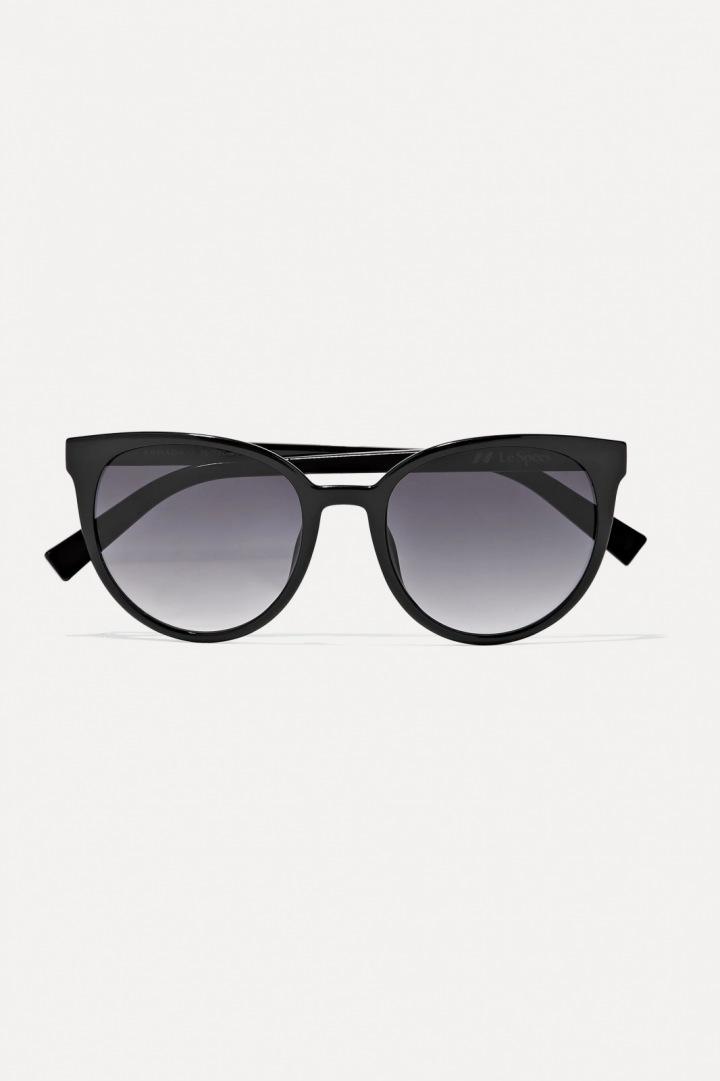 Černé sluneční brýle Le Specs