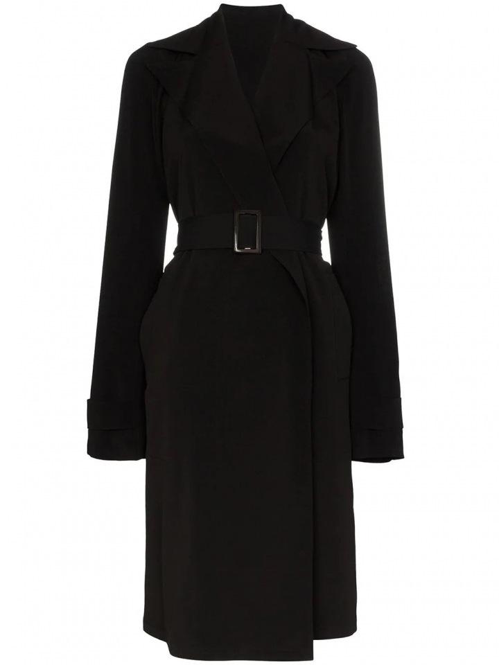 Černý kabát Rick Owens