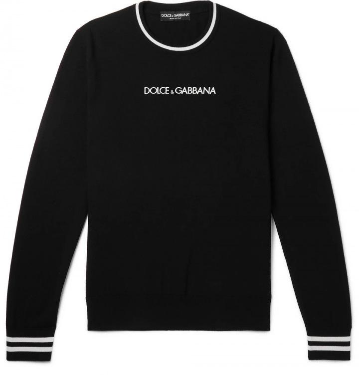 Černý svetr Dolce & Gabbana