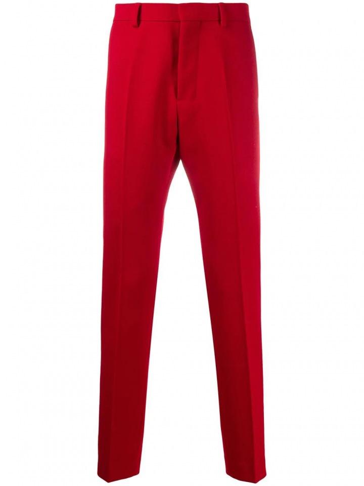 Červené kalhoty AMI Paris