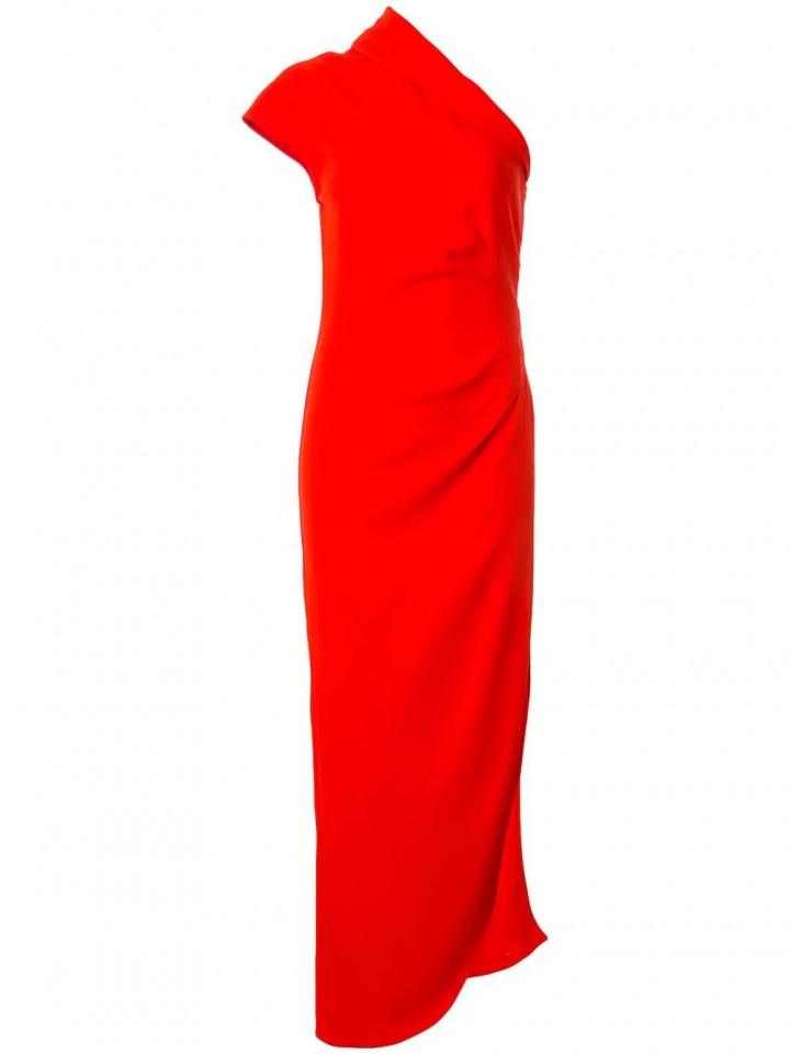 Červené maxi šaty Ginger & Smart
