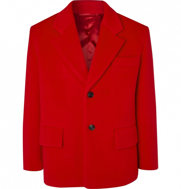 Červené sako Prada
