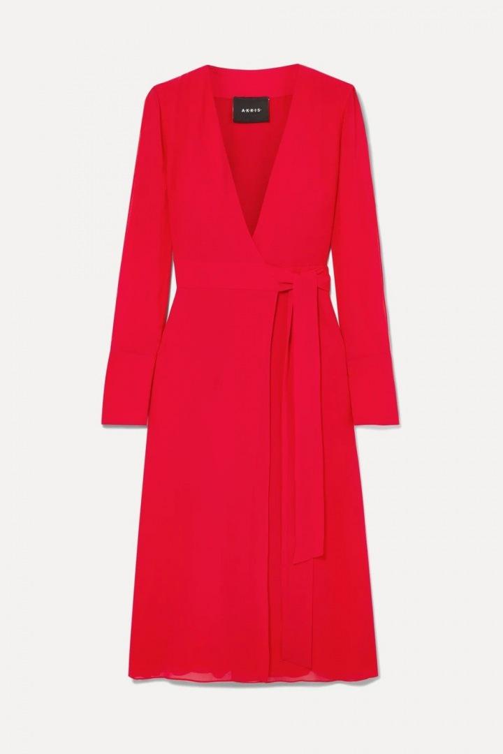 Červené šaty Akris