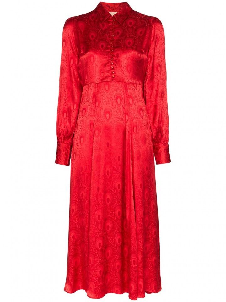Červené šaty byTiMo