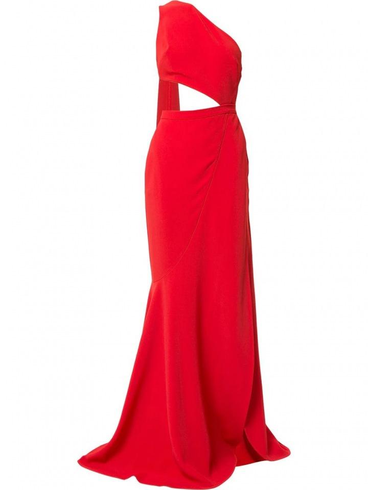 Červené šaty Elie Saab