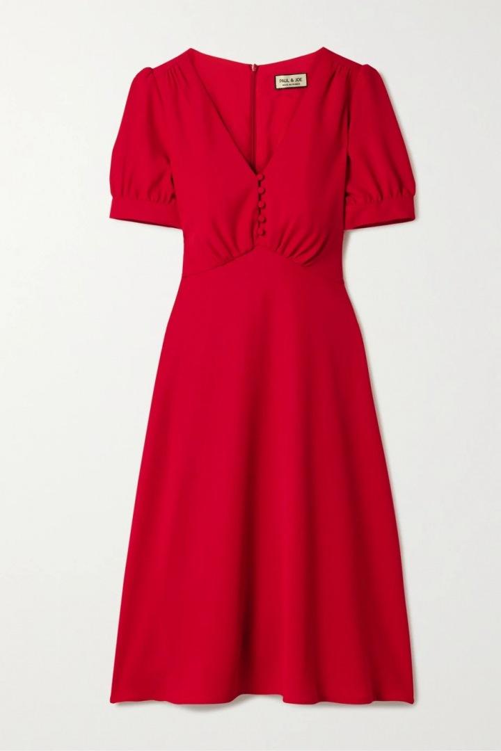 Červené šaty Paul & Joe