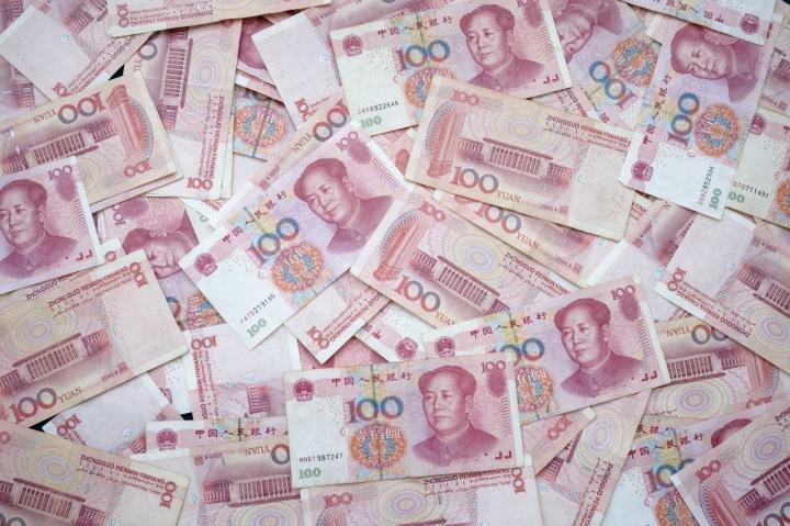 Čínská měna Yuan