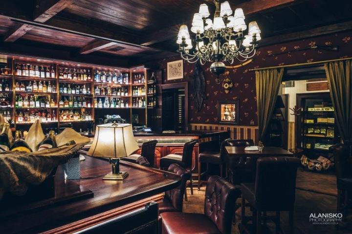 Cohiba Atmosphere bar, interiér