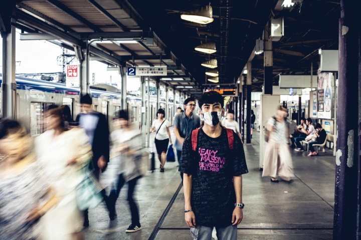 V Japonsku jsou roušky módní záležitostí