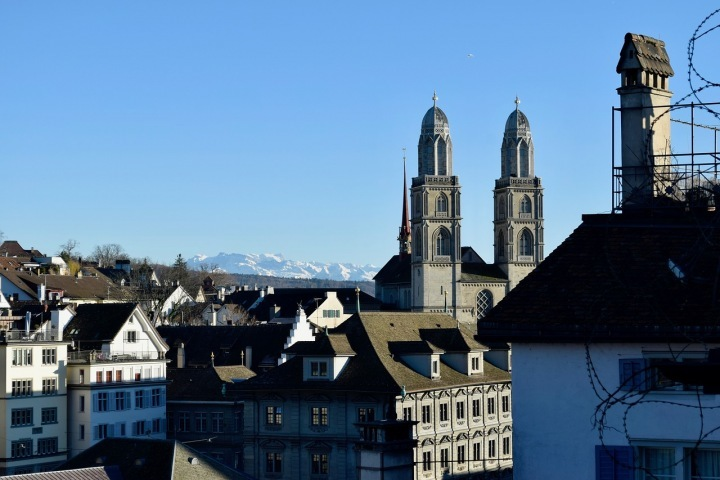 Zurich is one of the cities with the best quality of life
