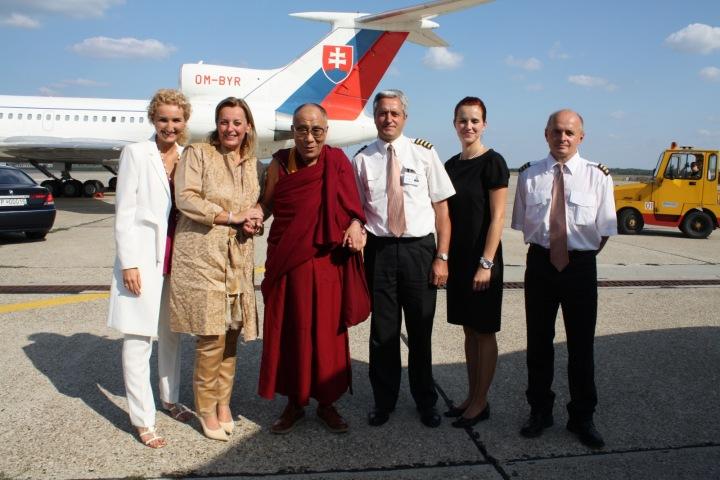 Dalajláma v Bratislavě