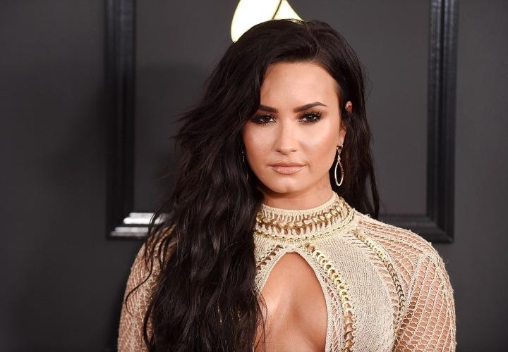 Americká zpěvačka Demi Lovato v roce 2017