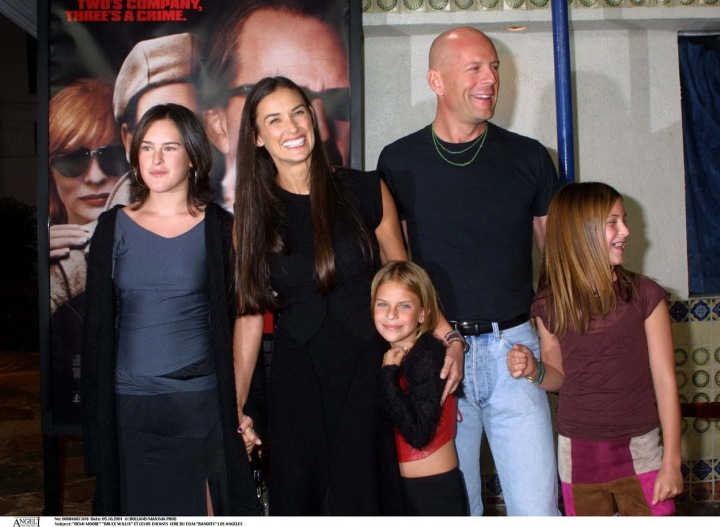 Demi Moore a Bruce Willis