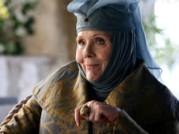 "Diana Rigg - ""Game of thrones"""