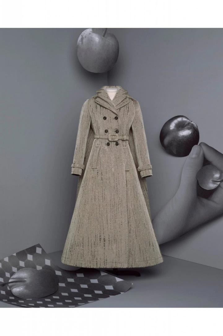 Kabát z kolekce Dior Fall 2020 Haute Couture