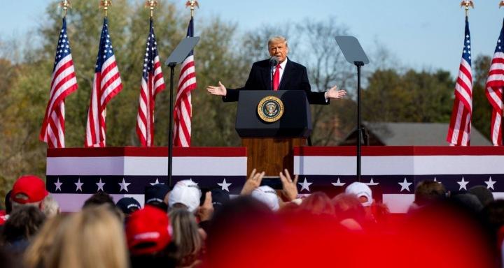 Současný americký prezident Donald Trump.