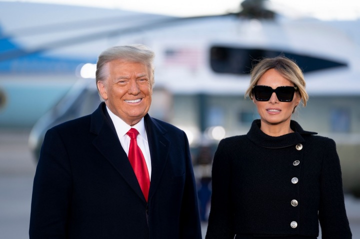 Donald a Melania Trump