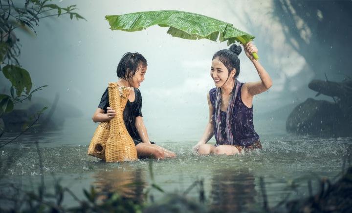 Dvě ženy v pralese