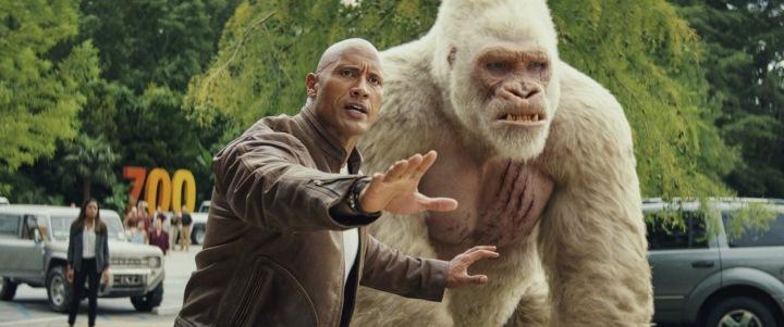 Dwayne Johnson ve filmu Rampage