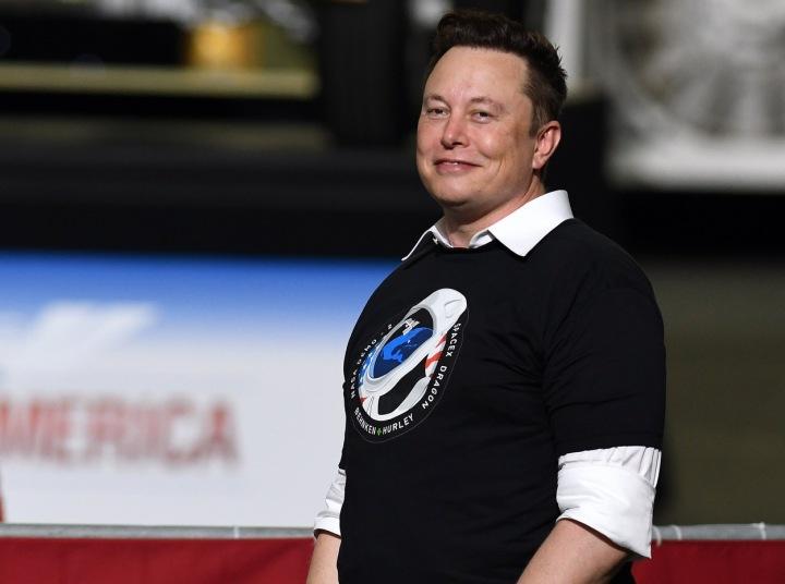 Miliardář a šéf SpaceX a Tesly, Elon Musk