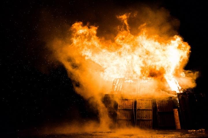 Exploze na ulici