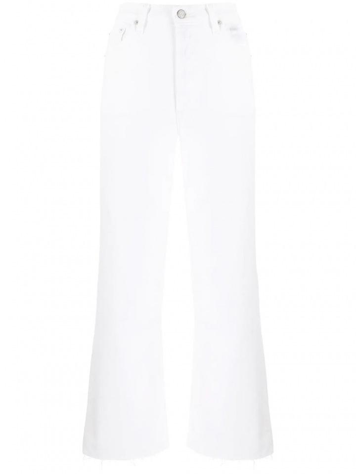 Bílé široké džíny