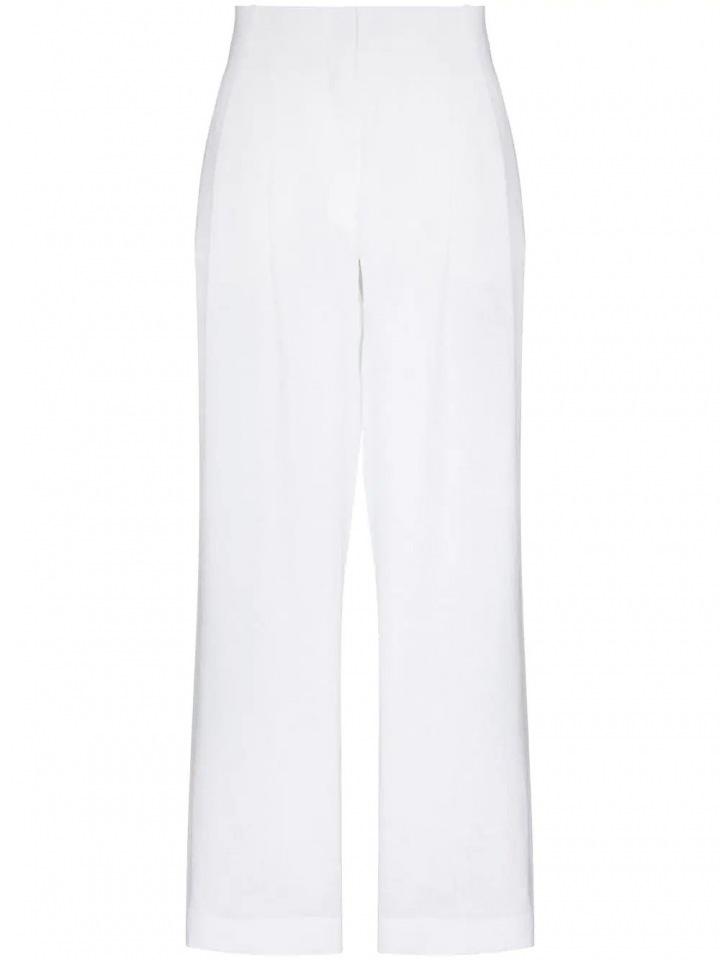 Bílé široké kalhoty