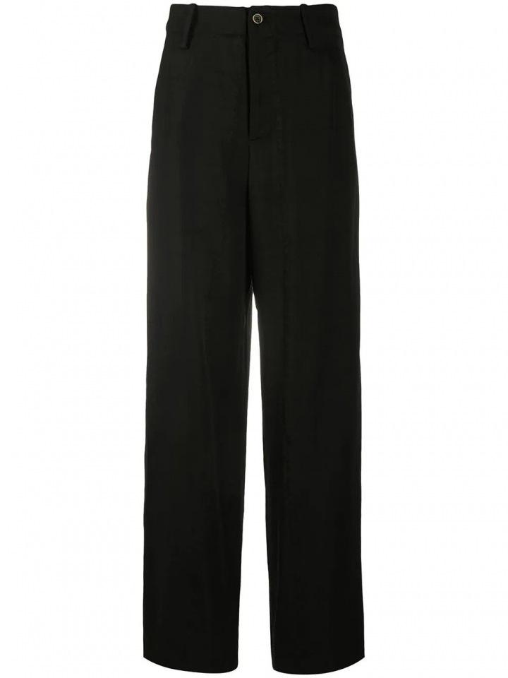 Černé široké kalhoty