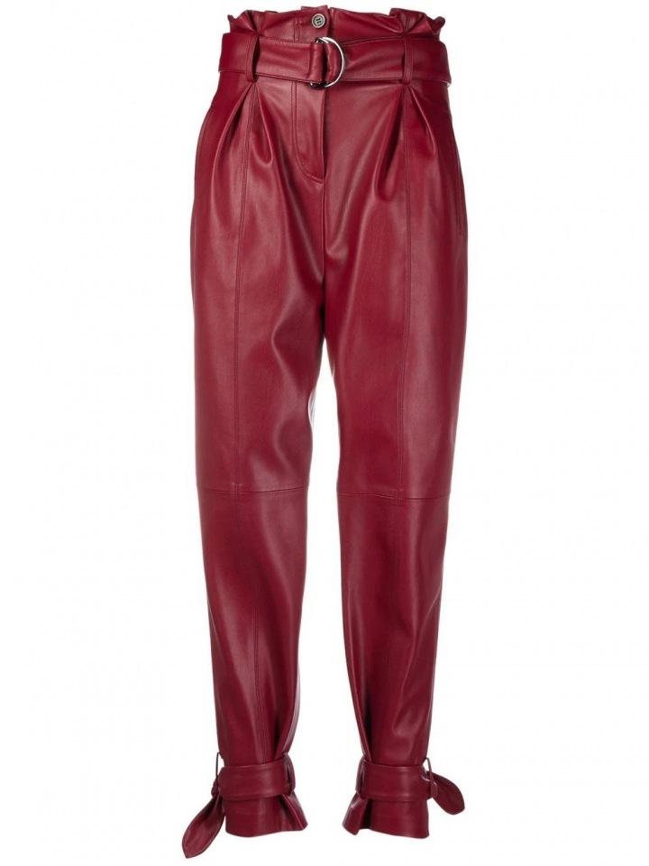Kožené kalhoty od Karla Lagerfelda