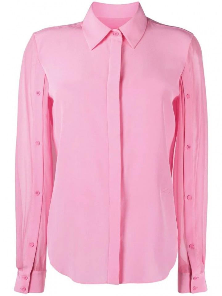 Růžová košile od Karla Legrfelda