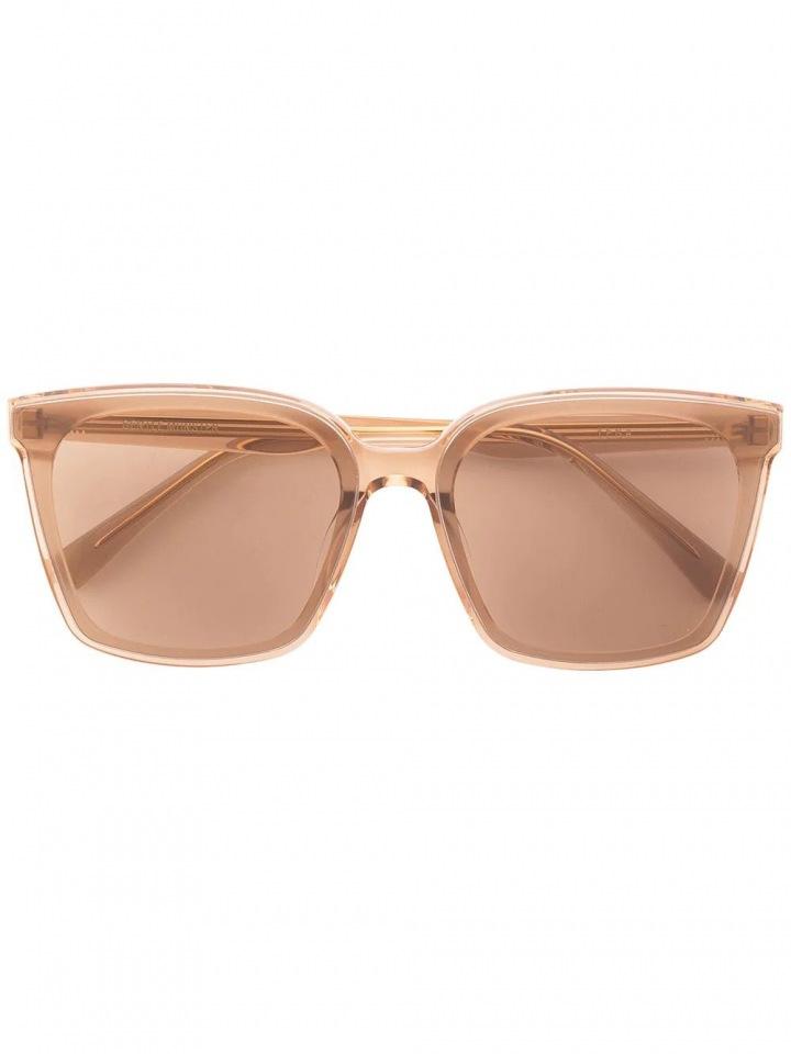 Hnědé sluneční brýle