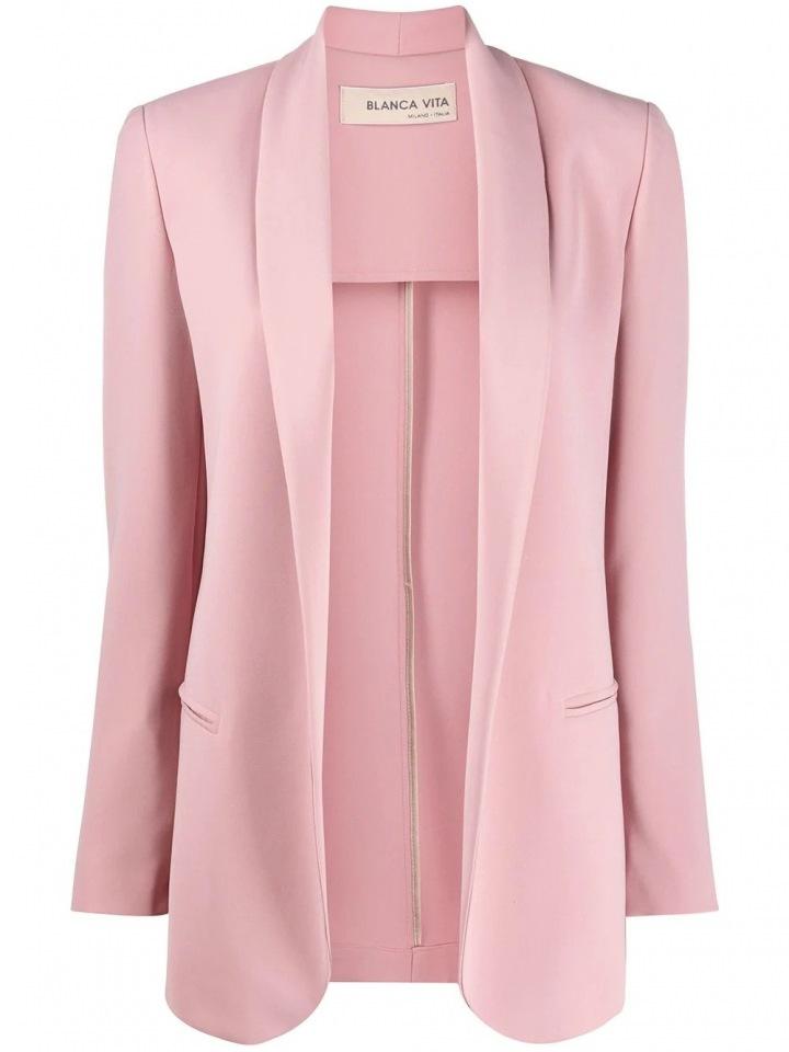Světle růžové sako