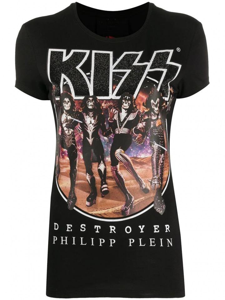 Tričko s potiskem skupiny Kiss