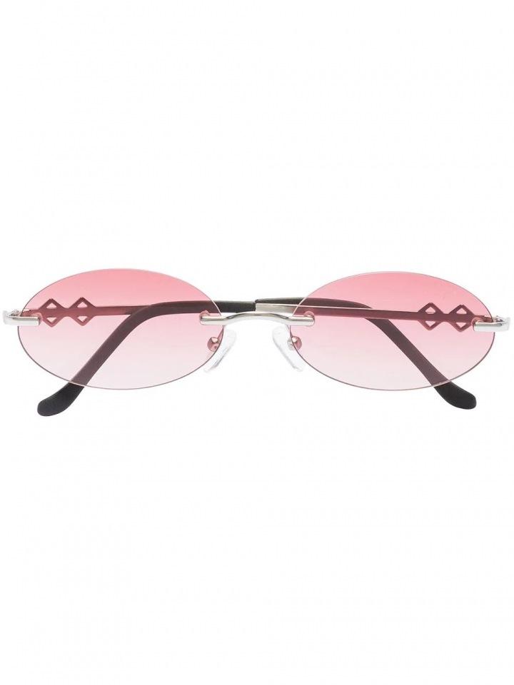 Růžové sluneční brýle