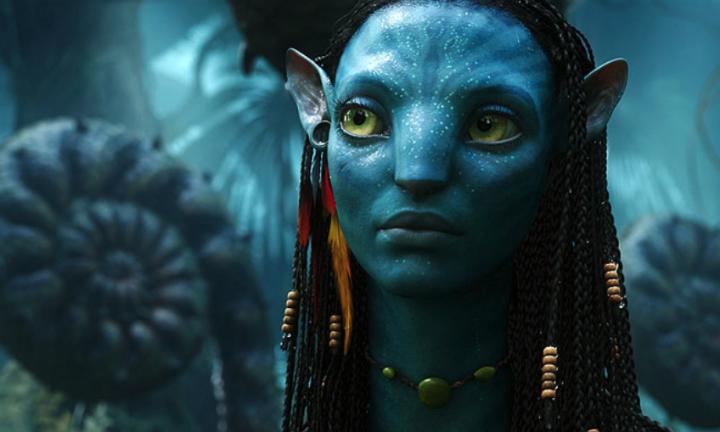 Momentka ze sci-fi filmu Avatar z roku 2009