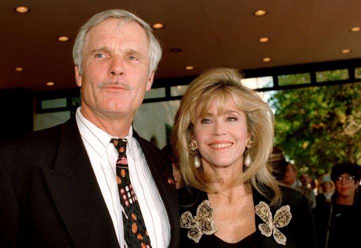 Jane Fonda a Ted Turner