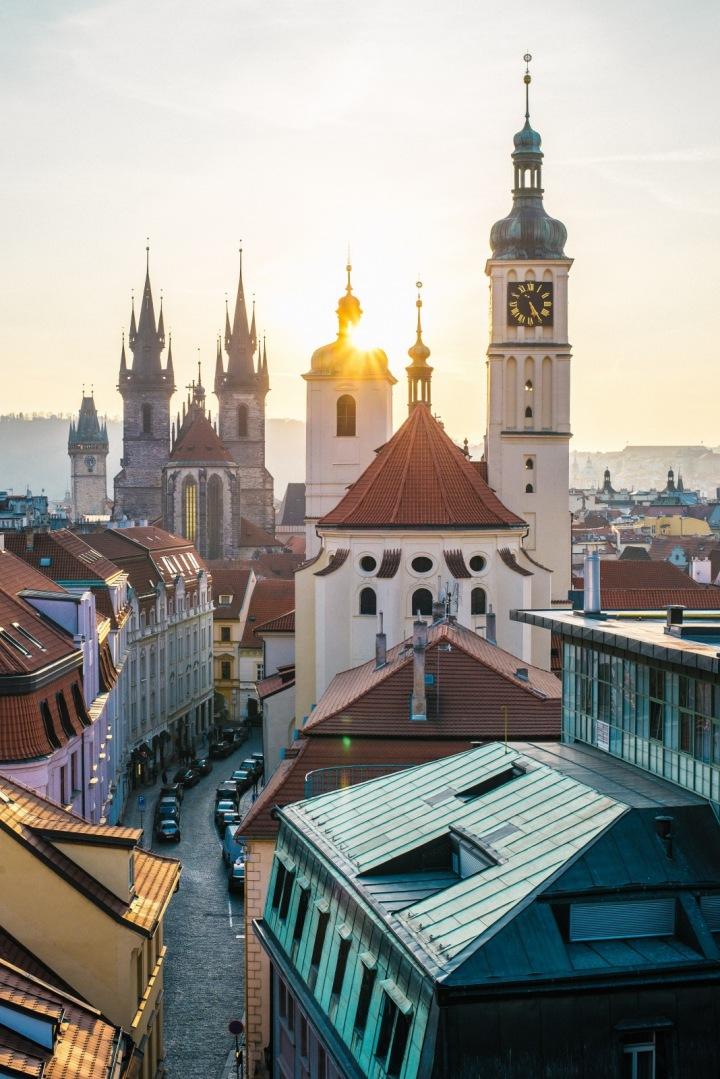 Uličky Prahy