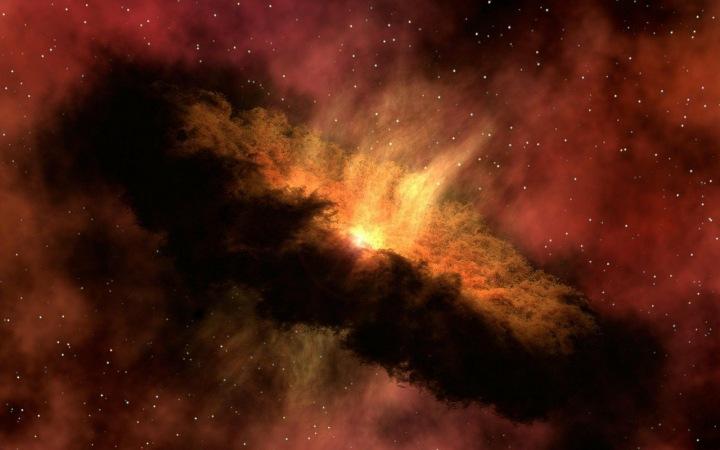 Galaxie, třesk