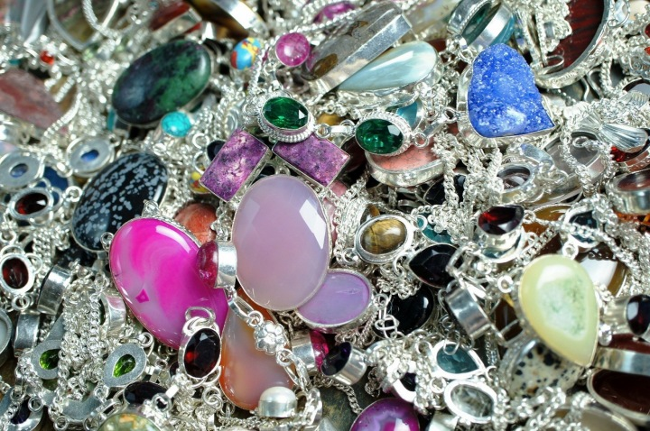 Šperky na hromádce