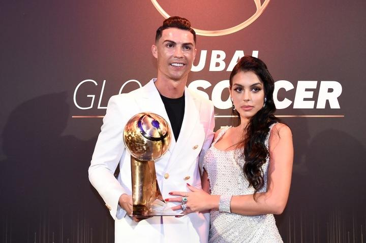 Georgina Rodriguez a Cristiano Ronaldo