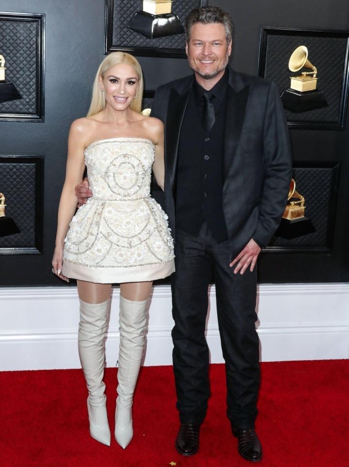 Gwen Stefani a Blake Shelton.