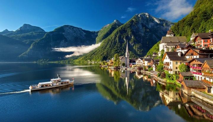 Hallstatt v Rakousku