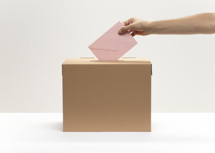 Volební urna.