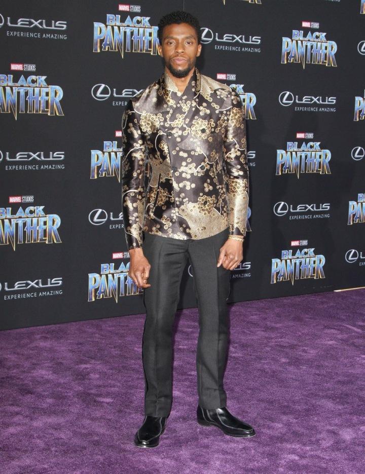 Herec Chadwick Boseman.