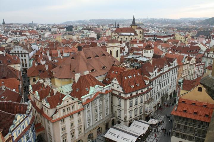 Historické centrum města Prahy.