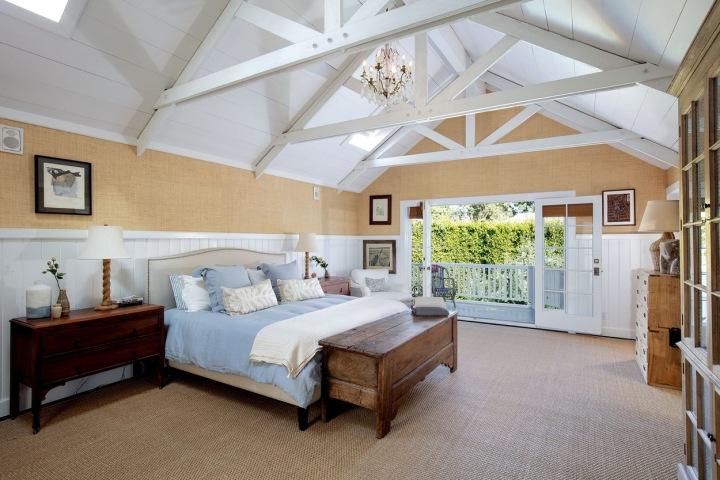 Hlavní ložnice s terasou.