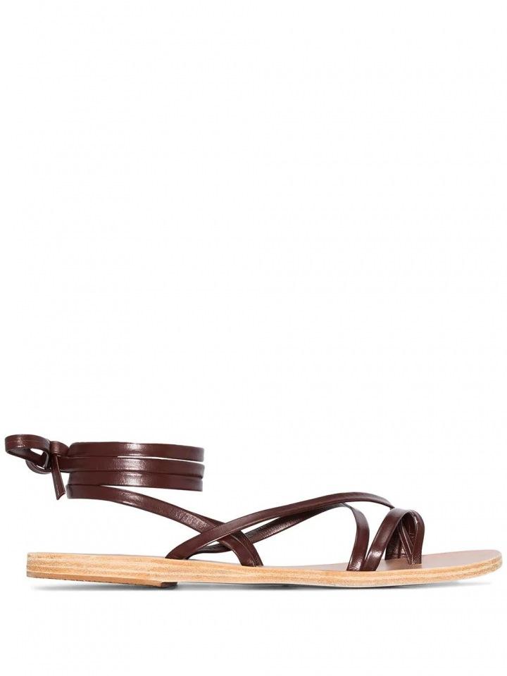 Hnědé sandálky Ancient Greek Sandals