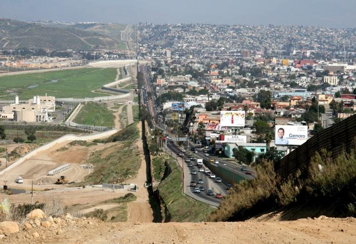 Hranice USA a Mexico