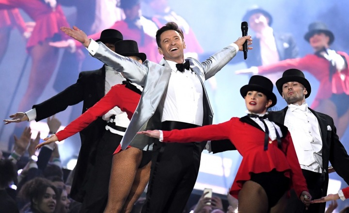 Hugh Jackman na Brit Awards