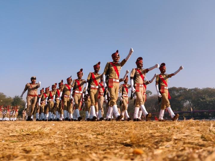 Vojenská přehlídka během oslav Dne republiky v Indii